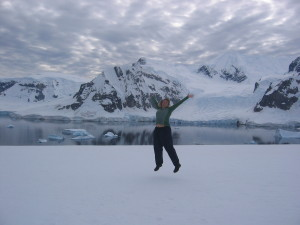 Antartica Day 5 _Jumping for Joy