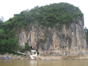 View before we entered the two caves from the boat