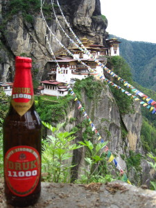 Bhutan's Local Beer by Tiger's Nest
