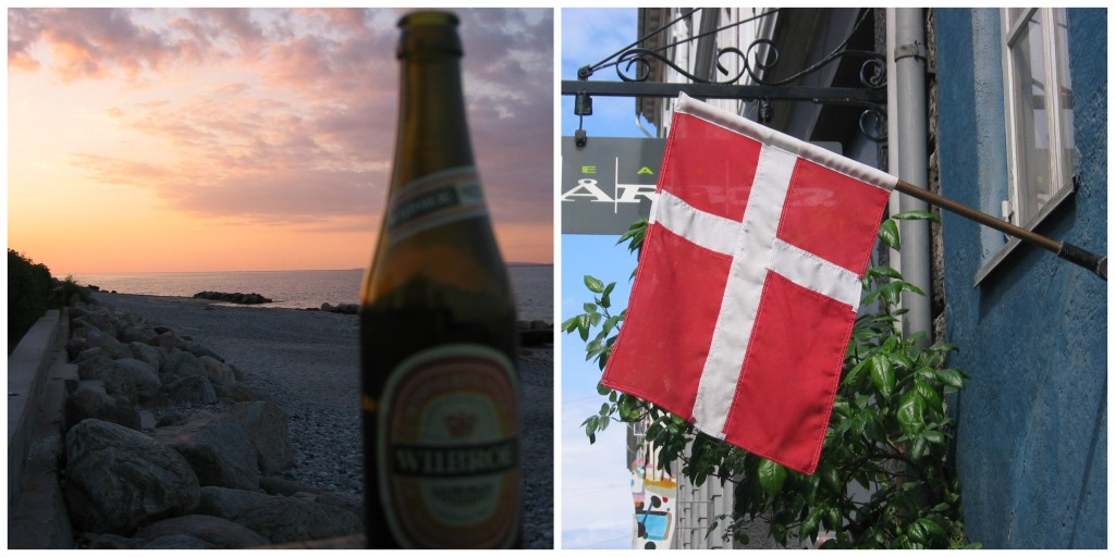 Denmark's Beer and Flag