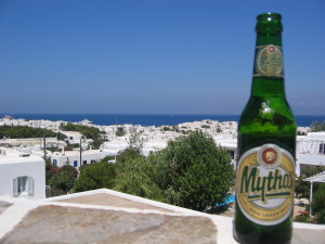 Greece's Beer in Mykonos