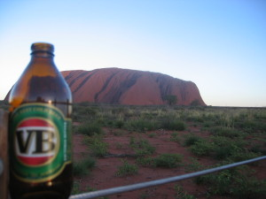 Australia Beer at Ayers Rock