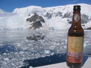 Beer in Antarctica (well it's Argentina's beer as Antarctica doesn't have a anywhere to make beer!)