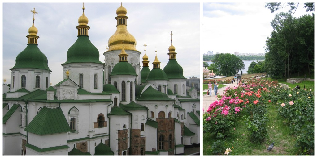 Caves Monastery and rose garden