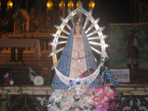 One of the many Virgin Mary's in Lujan