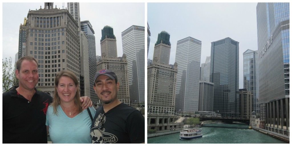 Exploring Chicago Riverfront with Patrick and Ross