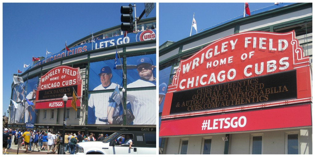 Wrigley Field - such an iconic ballpark!