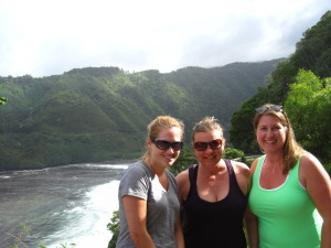 Kimmie, Tiffani and I on the Road to Hana