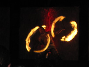 Fire Dancers at Sheraton Luau
