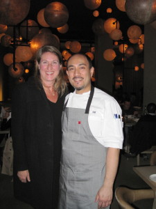 Executive Chef Ross was able to take a break from the kitchen to come out and say hello.