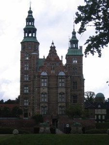 Rosenborg Slot (Copenhagen`s Castle with the crown jewels).