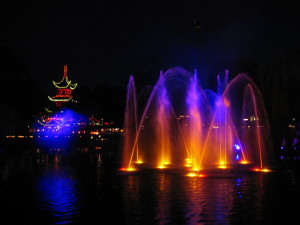 Tivoli Gardens LIghts