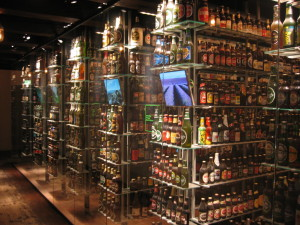Carlsberg Beer Display