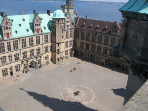 Helsingor Castle Interior courtyard