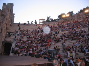 The Odeion Concert Seating