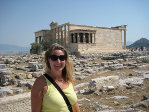 The Erechtheion with the Caryatids